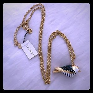 Bird statement necklace